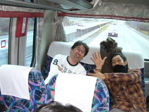 バス移動風景2
