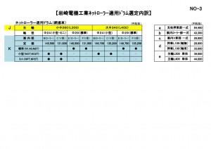 岩崎ネットローラー選定要領書3-001